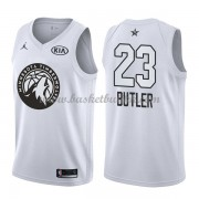 Minnesota Timberwolves Jimmy Butler 23# Hvit 2018 All Star Game NBA Basketball Drakter..
